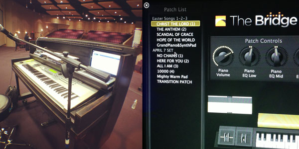 Modern Worship Keyboards: My setup for loops, clicks & keys with